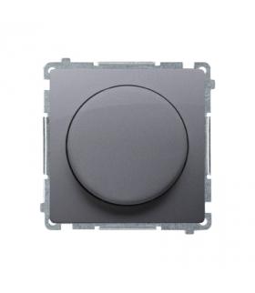 Ściemniacz do LED ściemnialnych, naciskowo-obrotowy, jednobiegunowy stal inox W układzie schodowymTak BMS9L.01/21