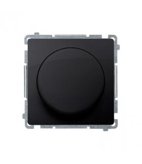 Ściemniacz do LED ściemnialnych, naciskowo-obrotowy, jednobiegunowy grafit mat, metalizowany W układzie schodowymTak BMS9L.01/28