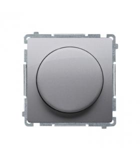 Ściemniacz do LED ściemnialnych, naciskowo-obrotowy, jednobiegunowy srebrny mat, metalizowany W układzie schodowymTak BMS9L.01/4