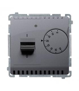 Regulator temperatury z czujnikiem wewnętrznym srebrny mat, metalizowany BMRT10W.02/43