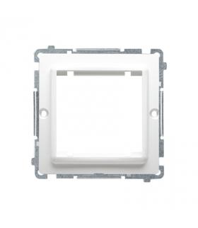 Adapter przejściówka na osprzęt standardu 45×45 mm biały BMA45/11