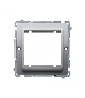Adapter przejściówka na osprzęt standardu 45×45 mm inox, metalizowany BMA45/21