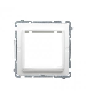 Adapter przejściówka na osprzęt standardu 45×45 mm biały BMA45M/11