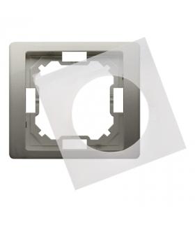 Ramka 1- krotna IP44 satynowy, metalizowany BMRC1B/29