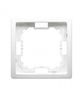 Ramka 1- krotna biały BMR1/11