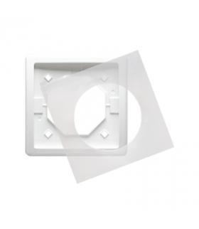 Ramka 1- krotna IP44 biały BMR1B/11