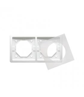 Ramka 2- krotna IP44 biały BMR2B/11