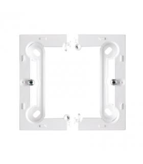Puszka natynkowa pojedyncza składana biały PSC/11