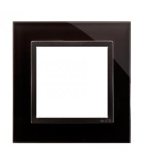 Ramka 1-krotna szklana zastygła lawa DRN1/73