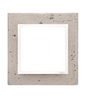 Ramka 1-krotna betonowa Al betone DRN1/91