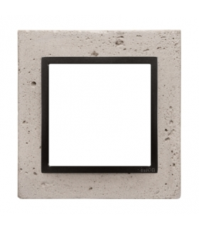 Ramka 1-krotna betonowa Funda mente DRN1/93