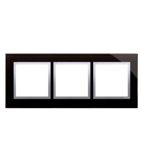 Ramka 3- krotna szklana księżycowa lawa DRN3/74