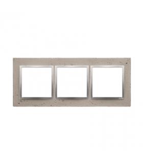 Ramka 3-krotna betonowa Butti cementi DRN3/92