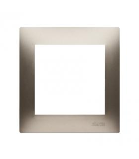 Ramka 1- krotna do puszek karton-gips złoty mat, metalizowany DRK1/44