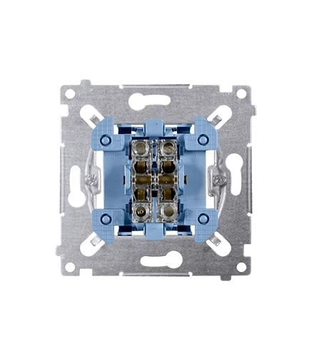 Przycisk pojedynczy zwierny (mechanizm) 10A 250V, szybkozłącza, nie dotyczy SP1M