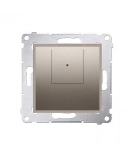 Ściemniacz dwuprzyciskowy złoty mat, metalizowany D75310.01/44