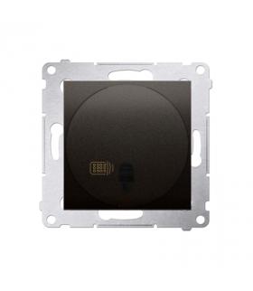Ściemniacz naciskowy i zdalnie sterowany brąz mat, metalizowany DS13T.01/46
