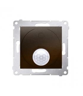 Łącznik z czujnikiem ruchu brąz mat, metalizowany DCR10T.01/46