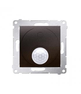 Łącznik z czujnikiem ruchu z przekaźnikiem do obiektów użyteczności publicznej antracyt, metalizowany DCR11P.01/48