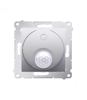 Łącznik z czujnikiem ruchu do obiektów użyteczności publicznej srebrny mat, metalizowany DCR11T.01/43