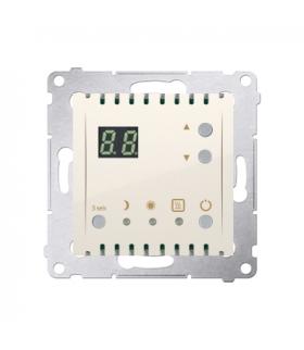 Regulator temperatury z wyświetlaczem (czujnik wewnętrzny) kremowy DTRNW.01/41