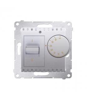 Regulator temperatury z czujnikiem wewnętrznym srebrny mat, metalizowany DRT10W.02/43