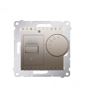Regulator temperatury z czujnikiem wewnętrznym złoty mat, metalizowany DRT10W.02/44