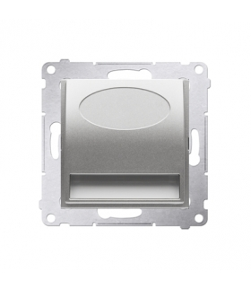 Oprawa oświetleniowa LED, 230V srebrny mat, metalizowany DOS.01/43