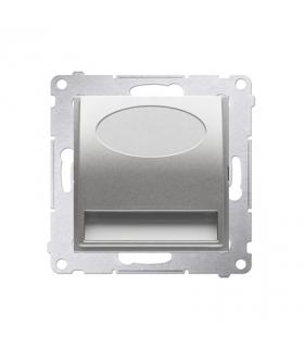 Oprawa schodowa LED, 230V srebrny mat, metalizowany DOS.01/43 barwa ciepła