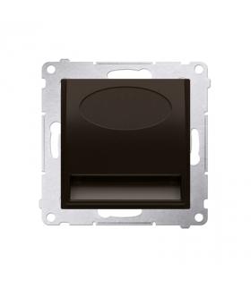 Oprawa oświetleniowa LED, 230V brąz mat, metalizowany DOS.01/46