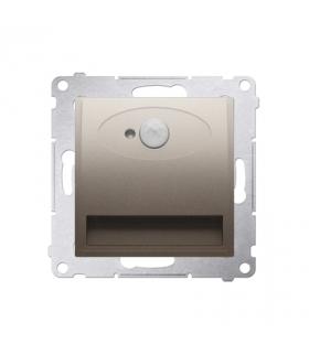 Oprawa oświetleniowa LED z czujnikiem ruchu, 230V złoty mat, metalizowany DOSC.01/44