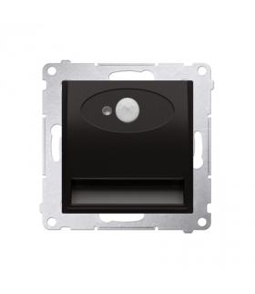 Oprawa oświetleniowa LED z czujnikiem ruchu, 230V antracyt, metalizowany DOSC.01/48