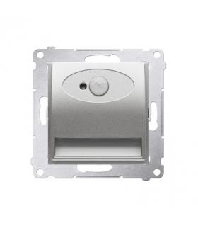 Oprawa schodowa LED z czujnikiem ruchu, 14V srebrny mat, metalizowany DOSC14.01/43 barwa ciepła