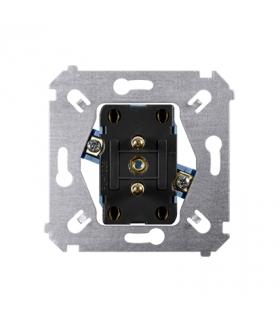 Gniazdo podwójne z uziemieniem (mechanizm) 16A 250V, zaciski śrubowe, SGZ2M