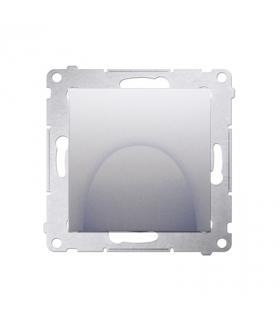 Wyjście kablowe srebrny mat, metalizowany DPK1.01/43