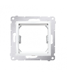 Adapter przejściówka na osprzęt standardu 45×45 mm biały DA45.01/11