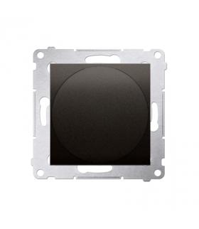 Sygnalizator świetlny LED - światło czerwone brąz mat, metalizowany DSS2.01/46