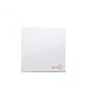 Klawisz pojedynczy z piktogramem klucza do łączników i przycisków biały DKWK1/11