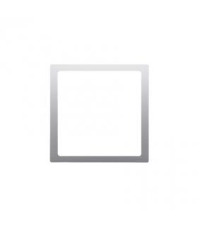 Pierścień dekoracyjny srebrny mat, metalizowany DPRZ/43