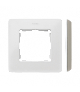 Ramka 1- krotna biały ciepły 8200610-029
