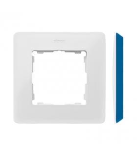 Ramka 1- krotna biały indygo 8200610-201