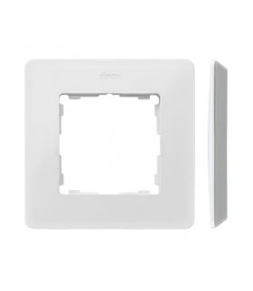 Ramka 1- krotna aluminium biały 8200610-230