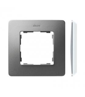Ramka 1- krotna aluminium biały 8200610-093