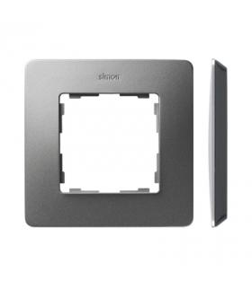 Ramka 1- krotna aluminium czarny 8200610-293