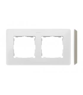 Ramka 2- krotna biały ciepły 8200620-029
