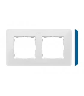 Ramka 2- krotna biały indygo 8200620-201