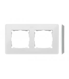 Ramka 2- krotna aluminium biały 8200620-230