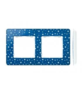 Ramka 2- krotna biały indygo 8200620-221