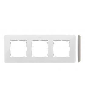Ramka 3- krotna biały ciepły 8200630-029