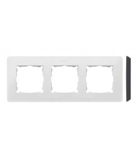 Ramka 3- krotna biały czarny 8200630-200